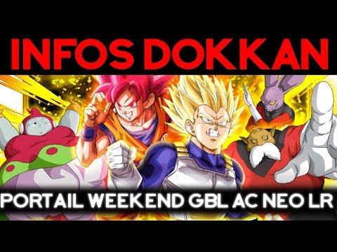 INFOS DOKKAN – portail WeekEnd ac Neo LR et Gohan SSJ2 !