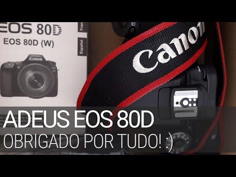 Adeus EOS 80D, obrigado por tudo, mas chegou a hora de você partir. #canon #fotografia