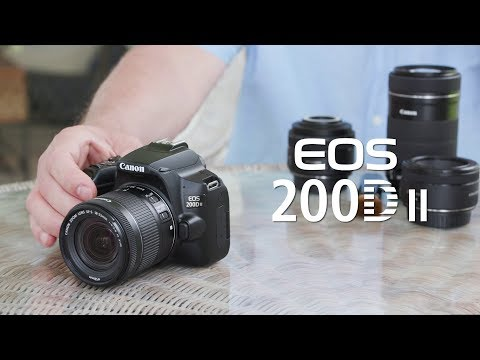 Introducing the Canon EOS 200D II