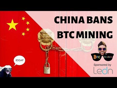 China Bitcoin Mining Ban | 4 Year BTC Hodl | Mt Gox Waiting Game