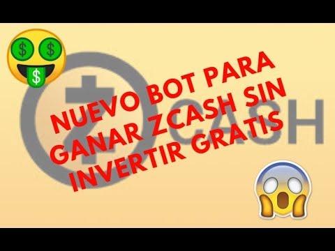 NUEVO BOT PARA G@N@R ZCASH SIN INVERTIR CRIPTOS GR@TIS