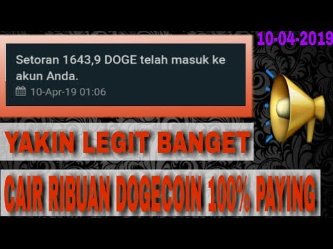 ? LEGIT   RIBUAN DOGECOIN CAIR   LIVE