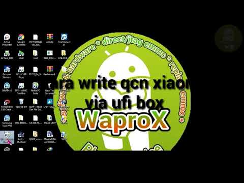 Write qcn hp redmi 2 via ufi box