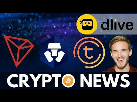 PewDiePie Enters Crypto! Justin Sun Tron Announcement, Crypto.com and TomoChain Update