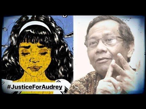 Tanggapi K45u5 Audrey, Mahfud MD : Tidak Ada Damai atau Maaf !