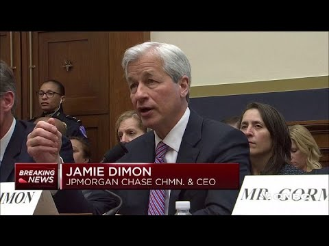 Jamie Dimon testifies about blockchain, cryptocurrency and consumer security