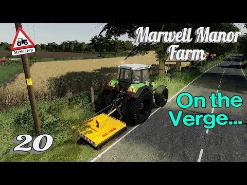 Marwell Manor Farm, #20, On the Verge… Farming Simulator 19, PS4, Let's Play/Role Play.