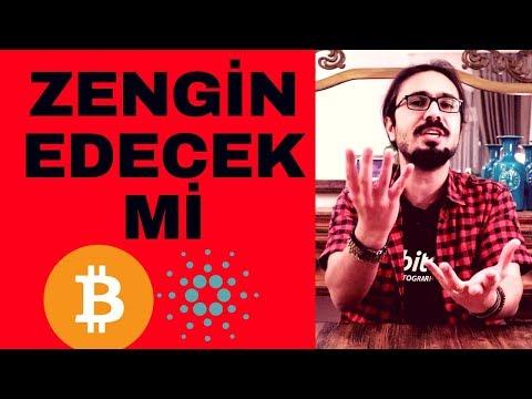 DİKKAT! CARDANO ZENGİN EDECEK Mİ? 1 DOLAR OLACAK MI? Bitcoin İle Birlikte Bu Altcoin (ADA) Ne Olacak