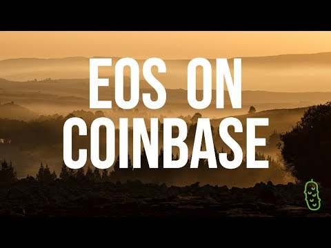 EOS on Coinbase, Tron & Ethereum Collaboration!