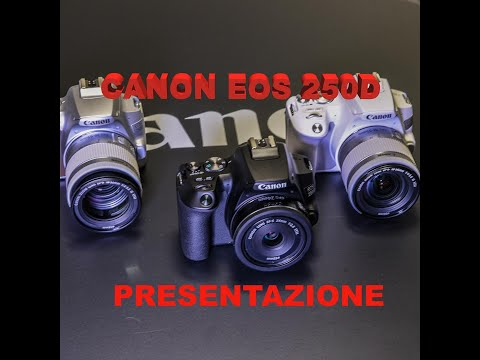 Canon EOS 250D, primo approccio step by step
