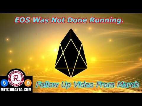 EOS : EOS is Trading Higher, Update From March. Crypto Technical Analysis