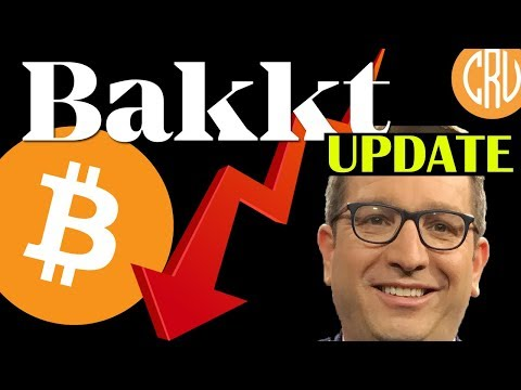 BAKKT Update, Bitcoin Falls Down, Brian Kelly is Back   LIVE Bitcoin and Cryptocurrency News