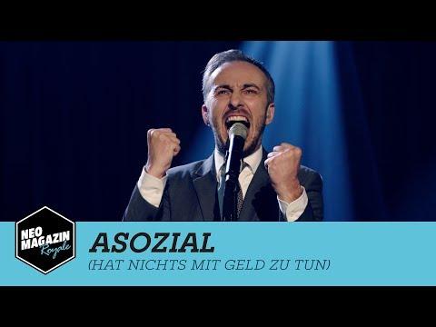 Asozial (hat nichts mit Geld zu tun) | Neo Magazin Royale mit Jan Böhmermann – ZDFneo