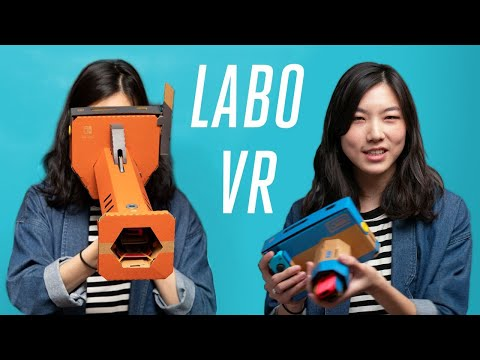 Nintendo Labo VR review: what virtual reality should be