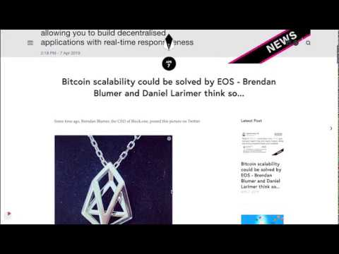 B1JUNE – Brendan Blumer – What if #Bitcoin could flow onto #EOS?