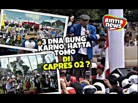 WUIK! AMien Rais BIlang DNA Prabowo ada 3,  Bung Karno Hatta n Soetomo?