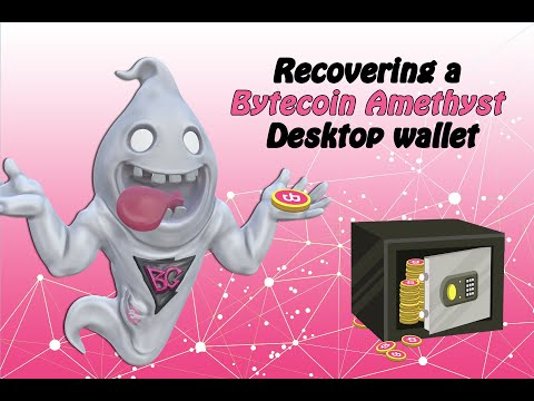 Bytecoin How To: Recovering a Bytecoin Amethyst Desktop Wallet
