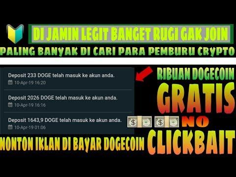 ? FREE GRATIS   RIBUAN DOGECOIN SUKSES KE WALET   NO INVESTMEN