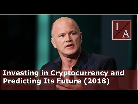 Billionaire Michael Novogratz: Investing In Cryptocurrency and Predicting Its Future (2018)