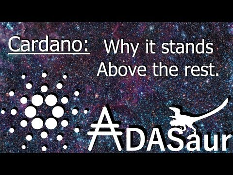 Cardano: Why it stands above the rest. #1
