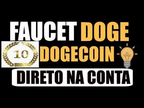 Faucet Dogecoin Valor Mínimo de Retirada 10.000000 Ð Taxa: 2.000000 Ð