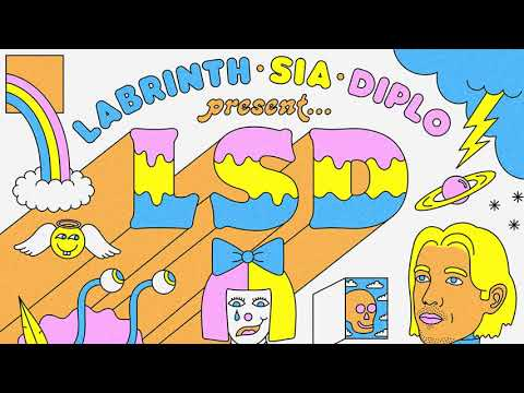LSD – It's Time (Official Audio) ft. Labrinth, Sia, Diplo