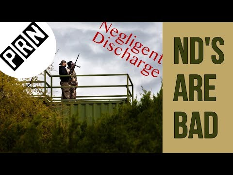 Negligent Discharge – Rifle Goes Off Early