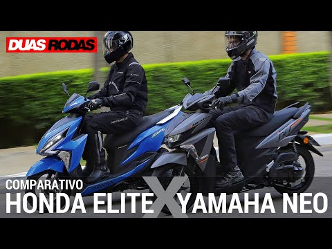 COMPARATIVO: HONDA ELITE x YAMAHA NEO 125