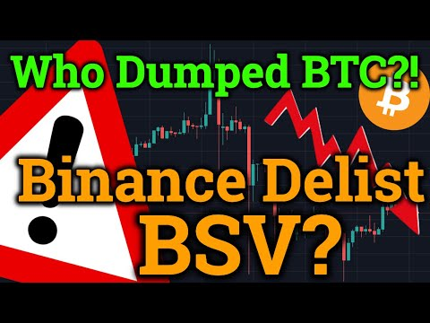 Who Dumped The BTC Price? Binance DRAMA! Tron TRX + Ripple XRP News! Cryptocurrency/Bitcoin Trading