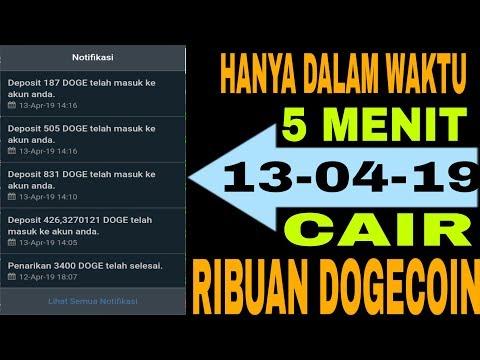? LEGIT   CUMA 5 MENIT DAPAT RIBUAN DOGECOIN