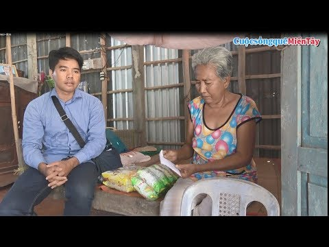 Từ Thiện thăm những gia đình nghèo neo đơn | Cuộc Sống Quê Miền Tây 14/4/2019