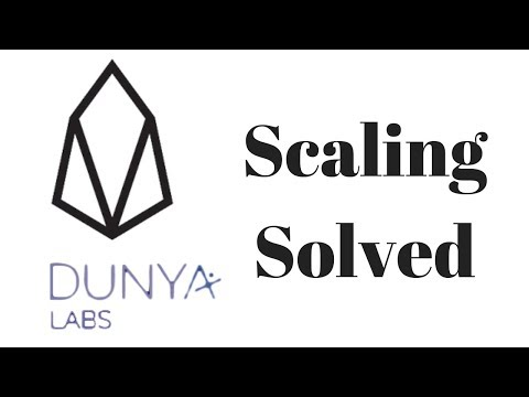 EOS Scaling Solved By Dunya Labs