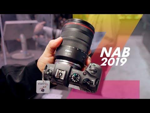Conheça as Câmeras Canon EOS R e EOS RP NAB2019 – OZI NAB #04