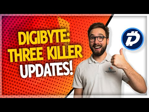 DigiByte $DGB Has THREE Secret Weapons! (New Features & Updates)