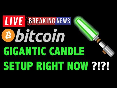 Bitcoin Price SETUP FOR GIGANTIC CANDLE?! ☄️- Crypto Trading Analysis & BTC Cryptocurrency News 2019