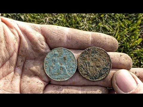 OMG! CTX 3030 finds Bizarre Coloured Coin – Metal Detecting