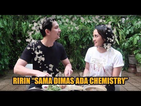 """#DimBeckMakanBareng Ririn """"sama Dimas ada chemistry"""""""