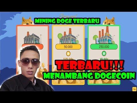 New Auto-mining dogecoin!! Situs Menambang dogecoin terbaru!