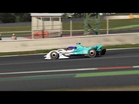 Assetto Corsa – VRC Formula Lithium v. 1.1 Hotlaps at Catalunya
