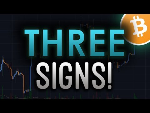 3 Signs That The BULLS Are Coming! – BTC/CRYPTOCURRENCY TRADING ANALYSIS