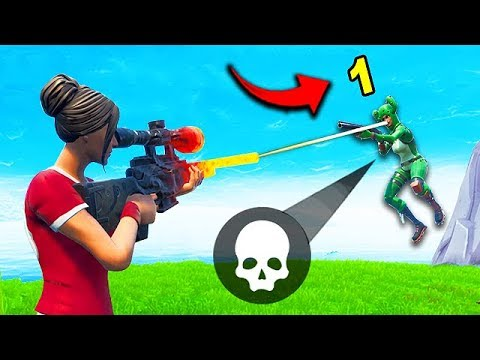 *1 DAMAGE* WITH A SNIPER?! – Fortnite Funny Fails and WTF Moments! #527
