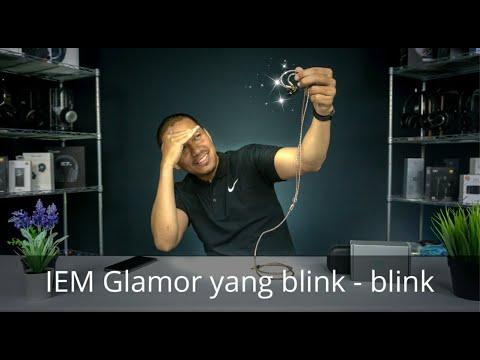 IEM Glamor yang blink – blink Review Shozy NEO BG