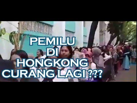 video lengkap pemilu di hongkong antrian membludak | ada indikasi kecurangan