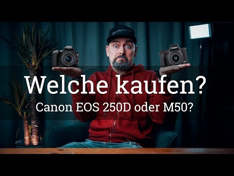 ⭐️EOS 250D oder M50 – Welche Canon EINSTEIGER KAMERA sollst Du kaufen?