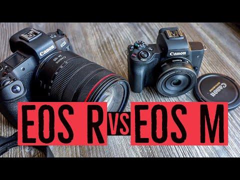 Canon EOS R vs EOS M System: Unterschiede Tipps und Kaufempfehlung