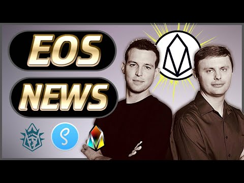 EOS News Weekly #16 – New Projects Launch – Dan Larimer Tweets – Scatter – New Airdrops & More