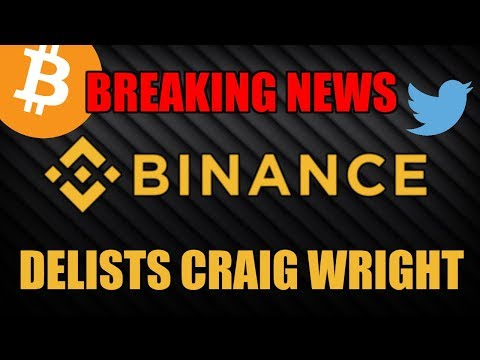 BREAKING: Binance Delists Bitcoin SV!! Is Bitcoin Cash Next?!! $BSV