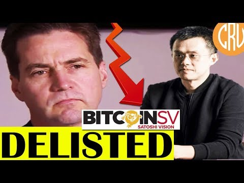 Binance to DELIST Bitcoin SV (BSV BCHSV) – Will Others Follow? | LIVE Bitcoin and Crypto News