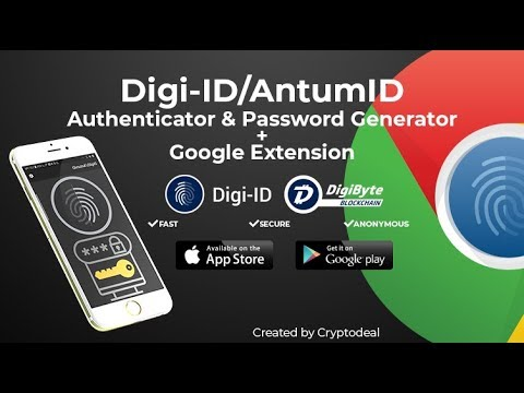 DigiByte – How to Use Digi-ID / AntumID Extension