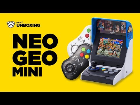 Unboxing – Neo Geo Mini